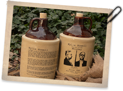 Wylie Howell Whiskey Jugs